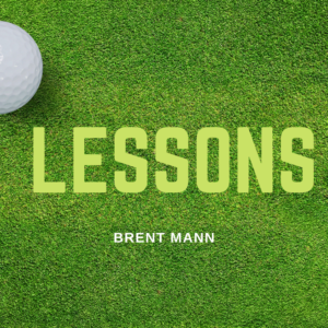 Lessons with our Director of Instruction Brent Mann
