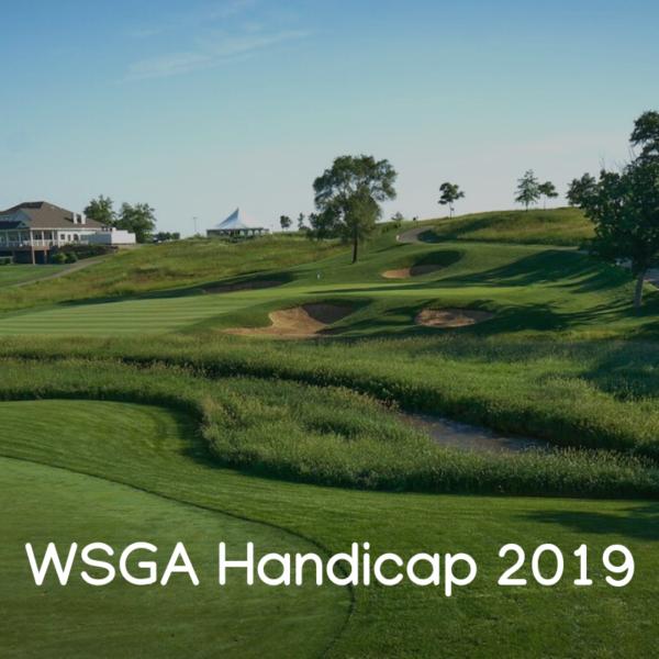 WSGA Handicap 2020