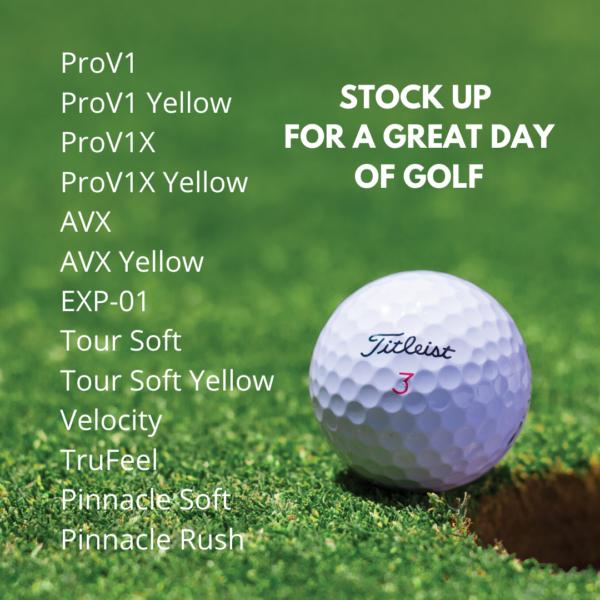Titleist Golf Balls - Sleeve