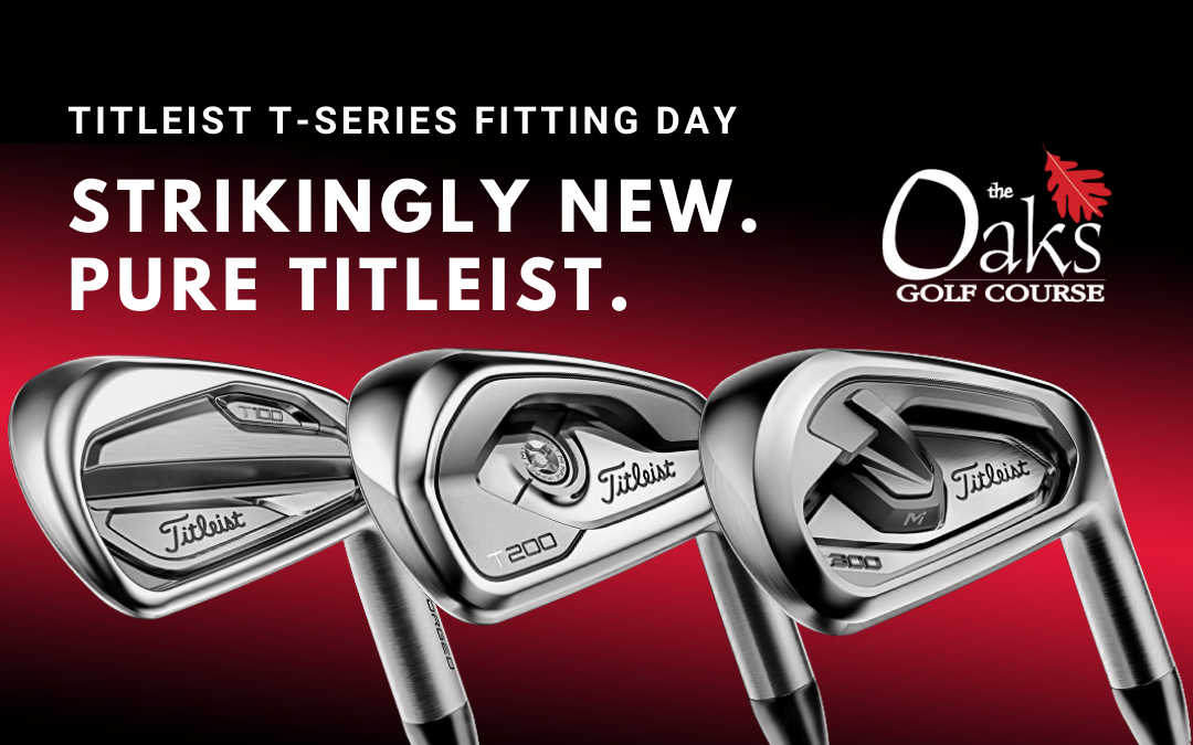 Titleist T-Series Fitting Day