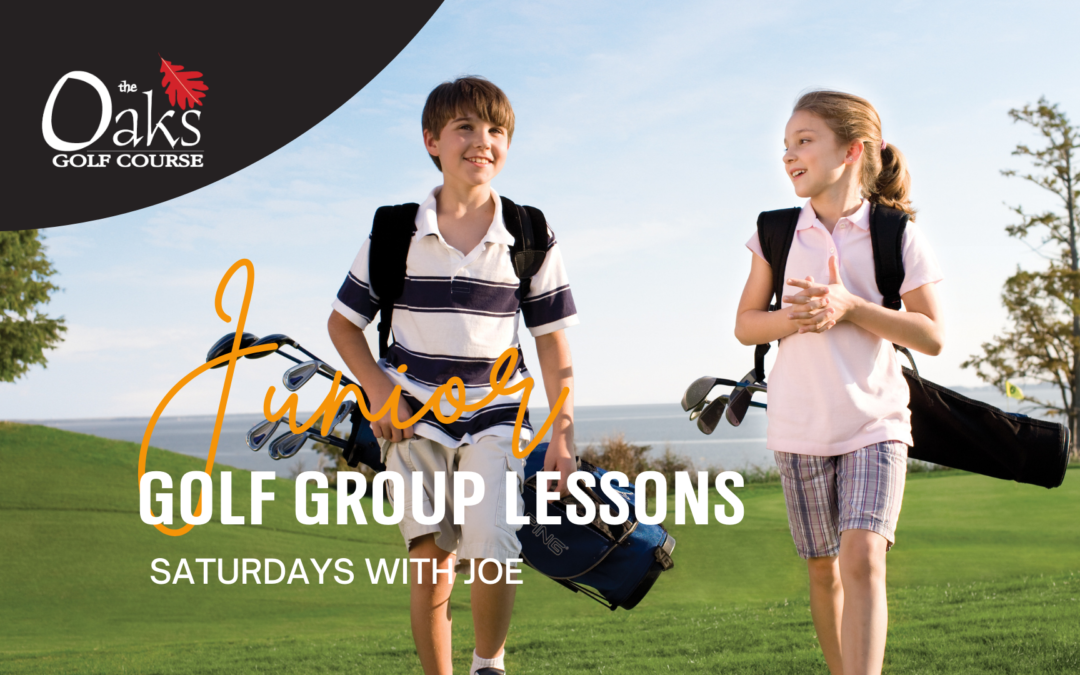 Junior Golf Group Lessons for the Summer & Fall!